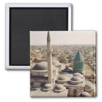 Aerial view of the Mevlana Tekke Refrigerator Magnet