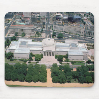 Aerial view of the National Gallery of Art Mouse Mat