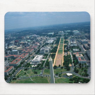 Aerial view of the National Mall Mouse Pad