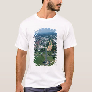 Aerial view of the National Mall T-Shirt