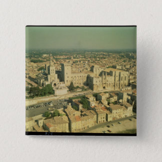 Aerial view of the Palace 15 Cm Square Badge