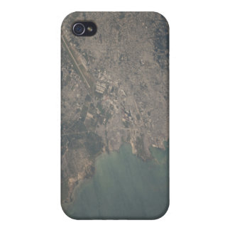 Aerial view of the Port-au-Prince area of Haiti Case For iPhone 4