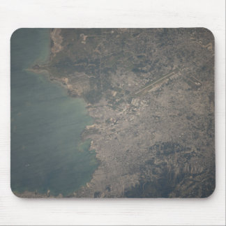 Aerial view of the Port-au-Prince area of Haiti Mouse Mat
