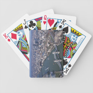 Aerial View of the River Thames Bicycle Playing Cards