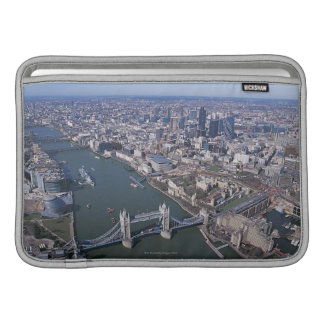 Aerial View of the River Thames MacBook Air Sleeve