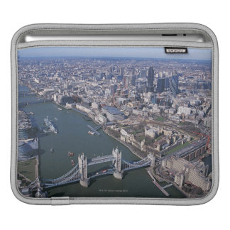 Aerial View of the River Thames Sleeve For iPads