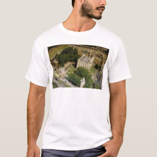 Aerial view of the Tower of London, England, U.K. T-Shirt