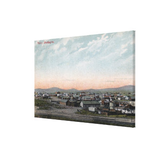 Aerial View of the Town 17 Canvas Print
