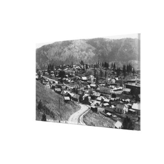 Aerial View of the Town 6 Canvas Print