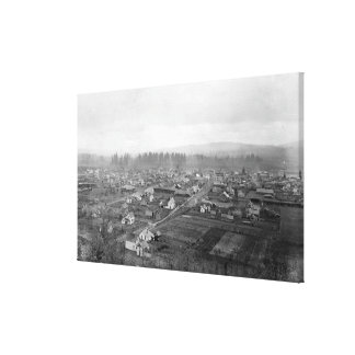 Aerial View of the Town 7 Canvas Print