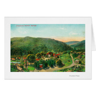 Aerial View of the TownBartlett Springs, CA Card