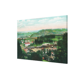 Aerial View of the TownColfax, CA 2 Canvas Print