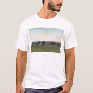 Aerial View of the TownSharon Springs, KS T-Shirt