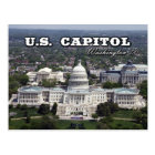 Aerial view of the US Capitol in Washington DC Postcard