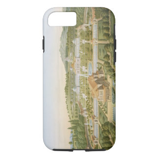Aerial view of the villa of King Guillaume of Wurt iPhone 8/7 Case
