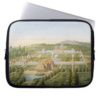 Aerial view of the villa of King Guillaume of Wurt Laptop Sleeve