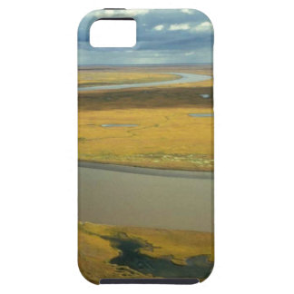 AERIAL VIEW OF TUNDRA TURNING GOLDEN IN THE FALL CASE FOR THE iPhone 5