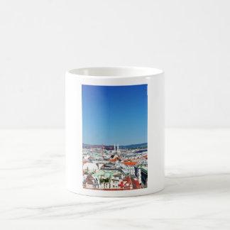 Aerial view of Vienna, Austria Coffee Mug