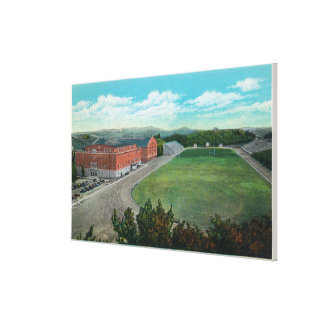 Aerial View of WA State College Gym and Canvas Print