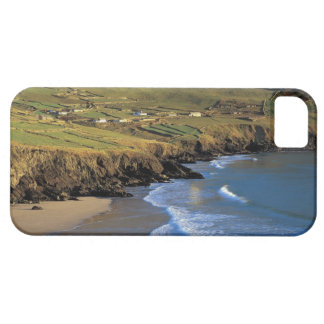 aerial view of waves washing up against a barely there iPhone 5 case