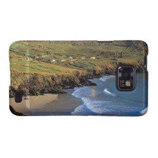 aerial view of waves washing up against a samsung galaxy cover