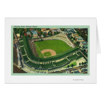 Aerial View of Wrigley Field # 2Chicago, IL Card