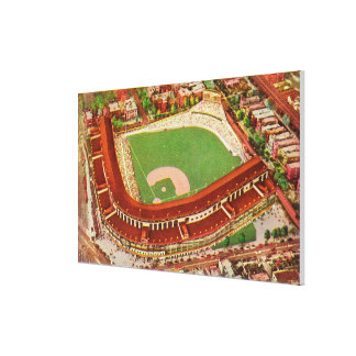 Aerial View of Wrigley FieldChicago, IL Canvas Print