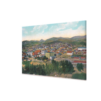 Aerial View Showing Dominion Hall and Court Hous Stretched Canvas Print