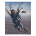 Aerial Wombat Joyride Poster
