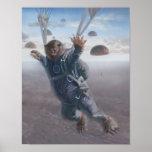 Aerial Wombat Joyride Posters