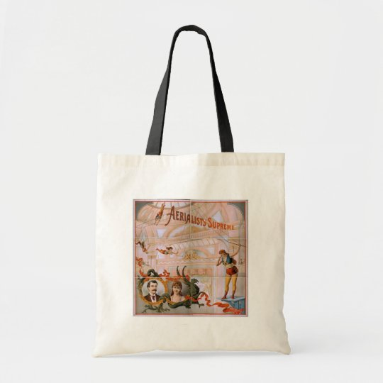 Aerialists Supreme Vintage Theatre Tote Bag