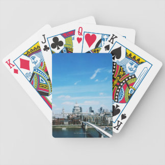 Aeriel View of London Bicycle Playing Cards