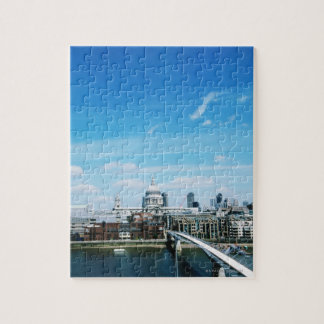 Aeriel View of London Jigsaw Puzzle