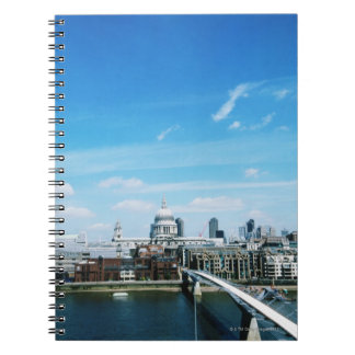 Aeriel View of London Notebook