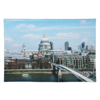 Aeriel View of London Placemat