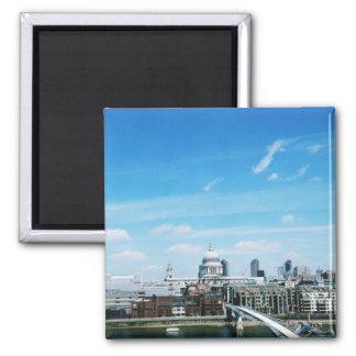 Aeriel View of London Square Magnet