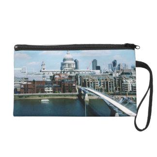 Aeriel View of London Wristlet