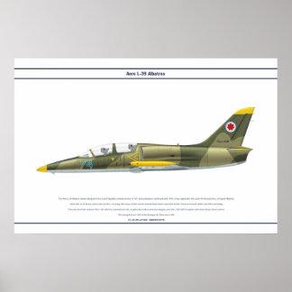 Aero L-39 Georgia Poster