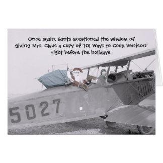 Aero Santa! - Note Card