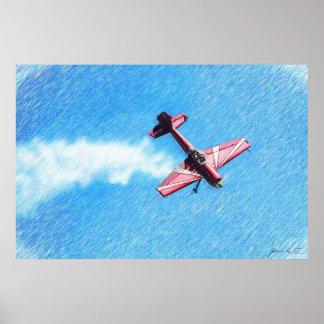 Aerobatic Tumble Poster