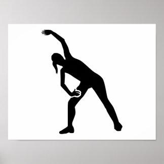 Aerobics exercise poster