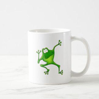 Aerobics Frog Basic White Mug