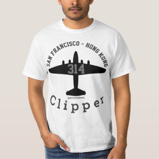 aerocratees Boeing 314 Clipper T-Shirt