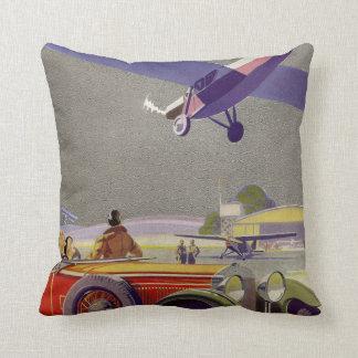 Aerodrome Throw Pillow