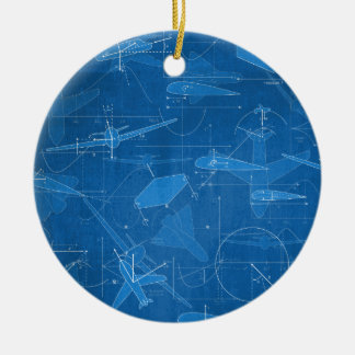 Aerodynamics Christmas Ornament