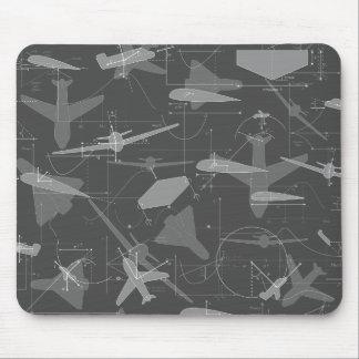 Aerodynamics Mouse Mat