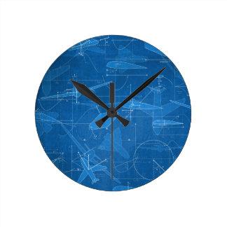 Aerodynamics Round Clock