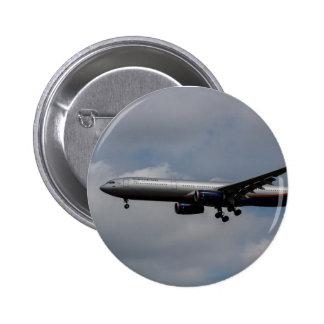 Aeroflot Airbus A330 6 Cm Round Badge