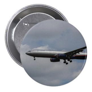 Aeroflot Airbus A330 7.5 Cm Round Badge