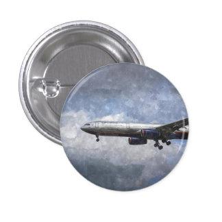 Aeroflot Airbus A330 Art 3 Cm Round Badge